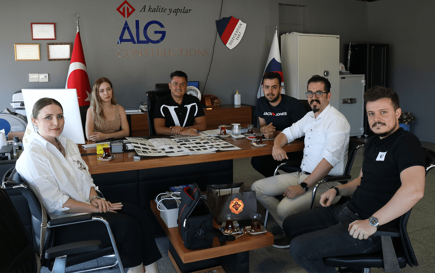 We held a meeting with ALGÜN İnşaat and Cihat ALGÜN.
